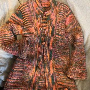 Jackets & Blazers - EUC Wool Knitted Coat Size M/L